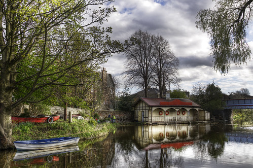 Ashley Boathouse in Spring