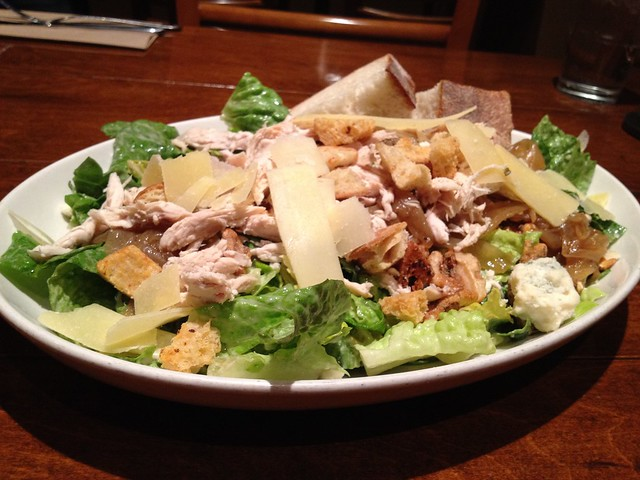 Chicken caesar salad Firewood Cafe