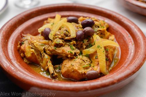 Chicken Lemon Olive Tagine