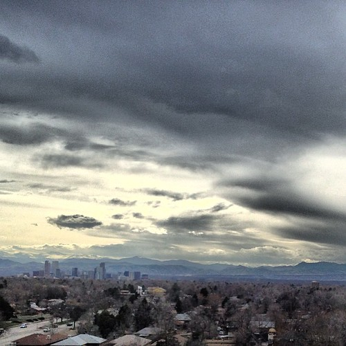 Downtown #denver from the DoubleTree Stapelton by @MySoDotCom