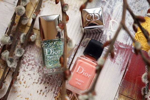 02 Dior #244 Majesty + Dior Top Coat Eclosion