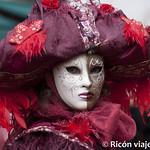 Viajefilos en el Carnaval de Venecia, Mascaras Venecianas 01