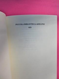 Alan Bennett, Gli studenti di storia, Adelphi 2012. [ind. grafiche non indicate]. Pagina dell'occhiello (part.), 1