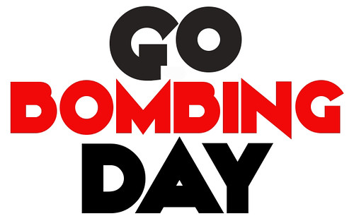 """Sticker Design Contest - """"Go Bombing Day"""" by Bomit.com"""