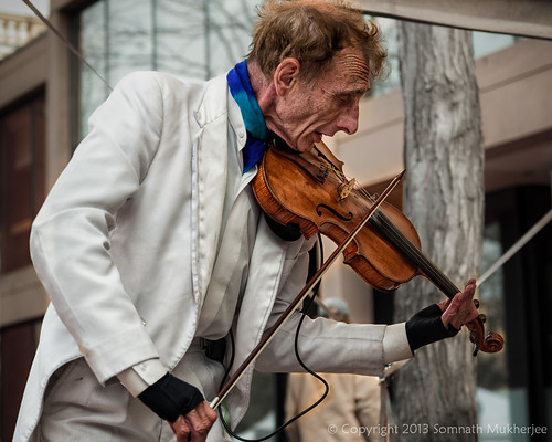 The Violinist | Pearl Street Mall, Boulder, CO | May, 2013 by Somnath Mukherjee Photoghaphy
