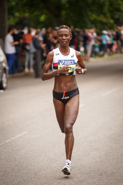 Isabellah Andersson (Stockholm marathon 2013)