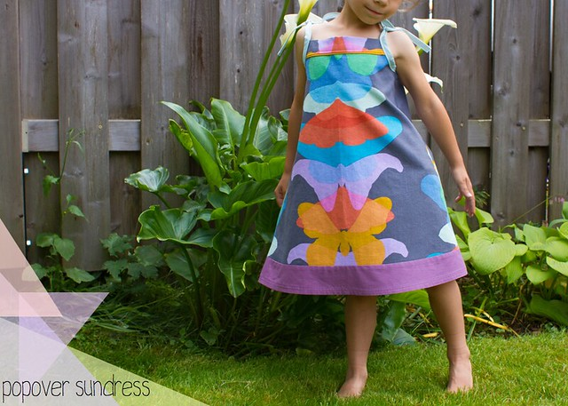 rainbow popover sundress