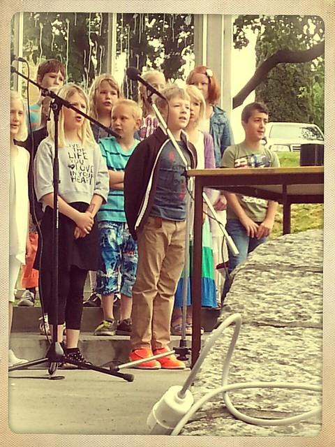 Sång på scen