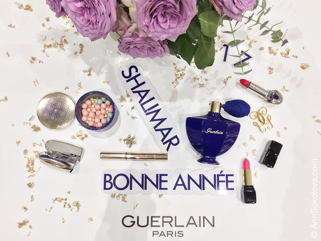 07 Guerlain Shalimar Holiday Make Up Collection by Natalia Vodianova swatches