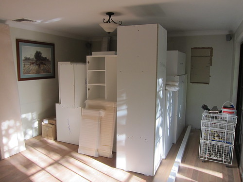 New kitchen...almost