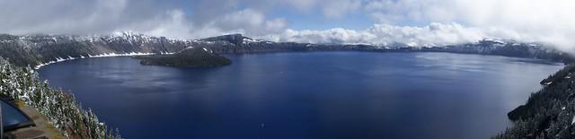 Sinnott Overlook panorama with June snow