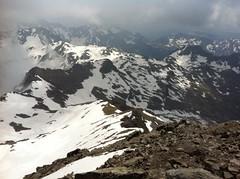 Ausblick von der Eidechsspitze