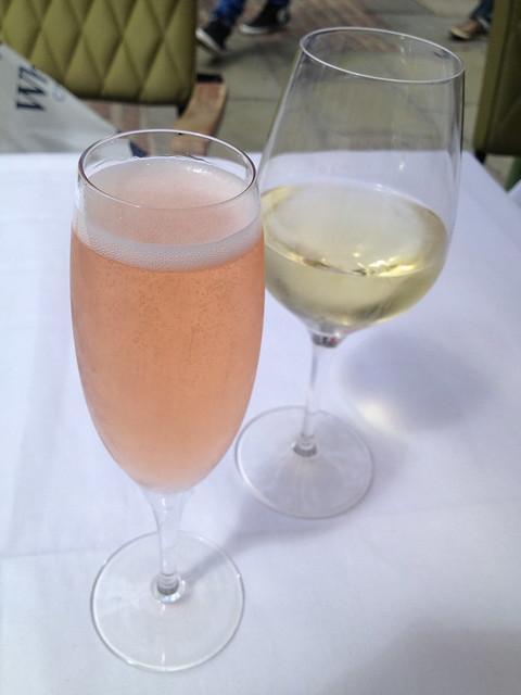 Afternoon drinks at Covent Garden - Laduree