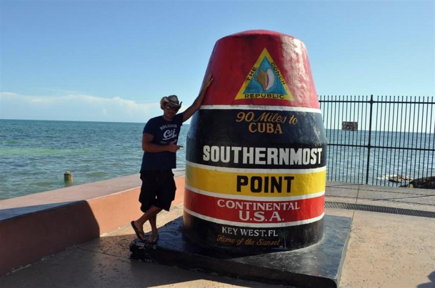 Southermost point, el punto más al sur de Estados Unidos y a 90 millas de Cuba. Florida Keys, carretera al paraíso (mejor con un Mustang) Florida Keys, carretera al paraíso (mejor con un Mustang) 7214492986 7901963469 o