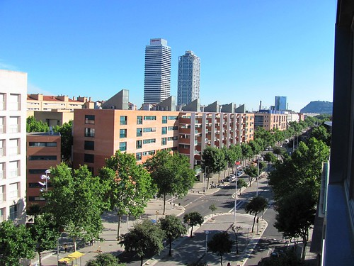 Bacelona, View fromRoom