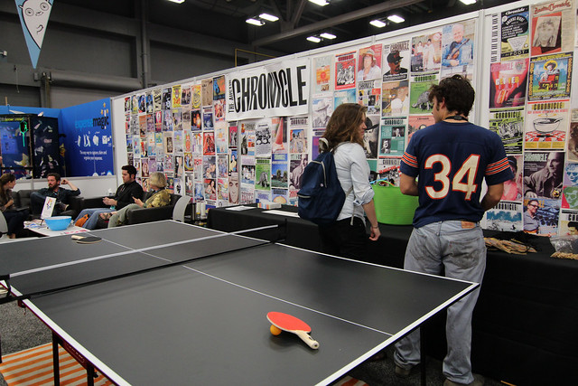 Trade show at SXSW 2012
