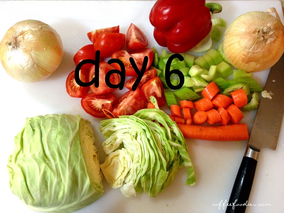 Day 6 Wonder Soup Diet Cabbage Soup Diet 7 Day Diet Weight Loss