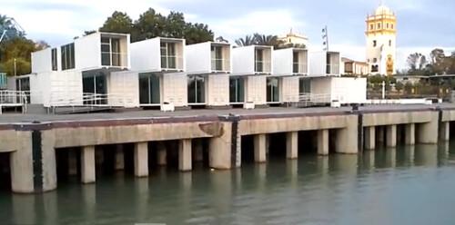 Arquitectura sostenible : Edificios a base de contenedores marítimos