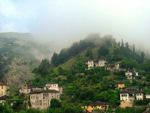 Gjirokaster, Morning Fog