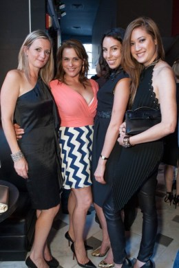 Claire Morrissey, Teresa Rodriguez, Bianchi Nolfi, Jessica Hon