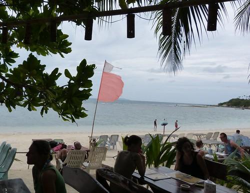 breakfast by the beach
