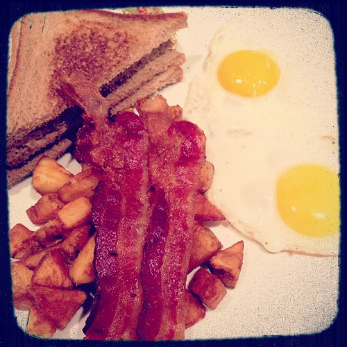 If you get to the airport early, you get to have breakfast. :o)
