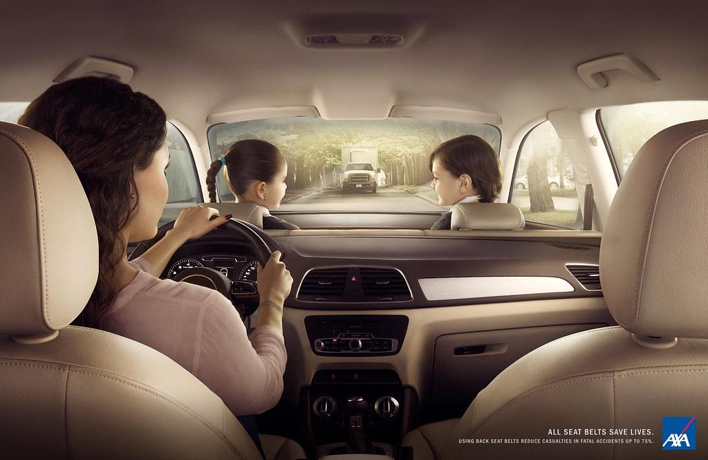 AXA Insurance - Rear seat belt 2
