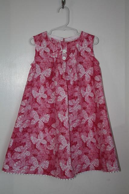 A Pink Summer Dress