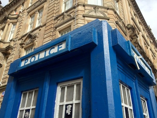 real police boxes