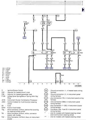 Fourtitude  A4 seat wiring diagram