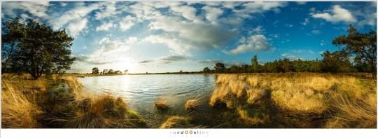 Het 360° panorama van het Starven op de Strabrechtse Heide. Zes foto's, samengevoegd tot één enkele foto. Ik leg stap voor stap uit hoe ik tot dit resultaat ben gekomen.