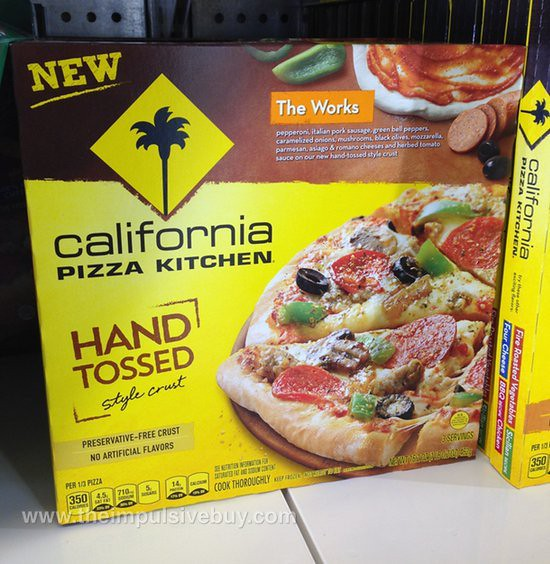 California Pizza Kitchen The Works Hand Tossed Style Crust Pizza