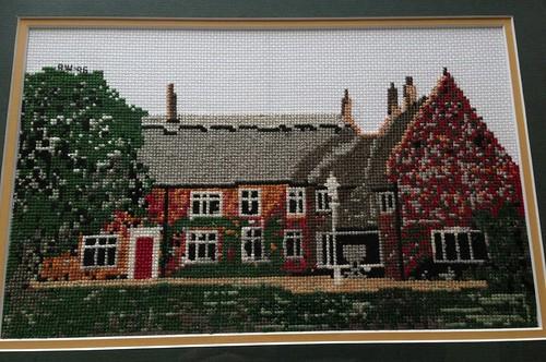 Grange cross-stitch