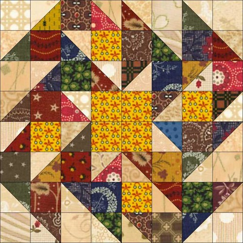 Fall Flowers Block.jog