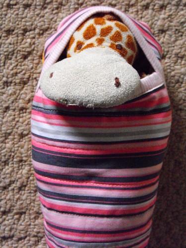 Thing 3 - Stuffie sleeping bag