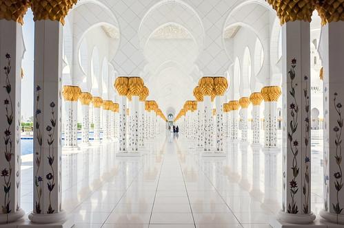Sheikh Zayed Mosque - Exterior II.