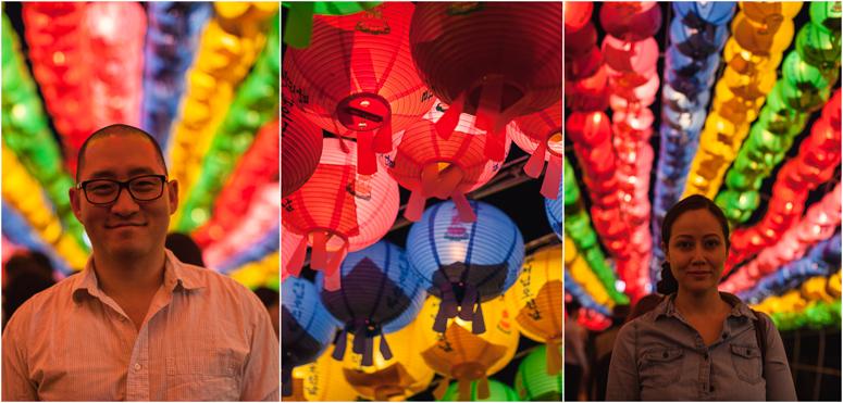 daegu // lotus lantern festival