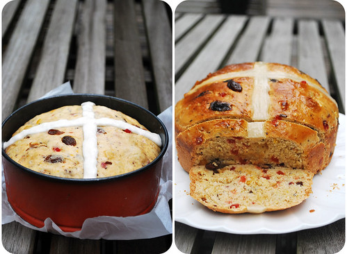 Hot Cross Tea Bread II