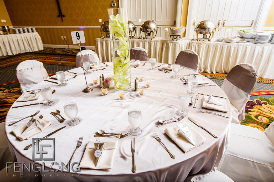 Wedding reception at Chateau Elan