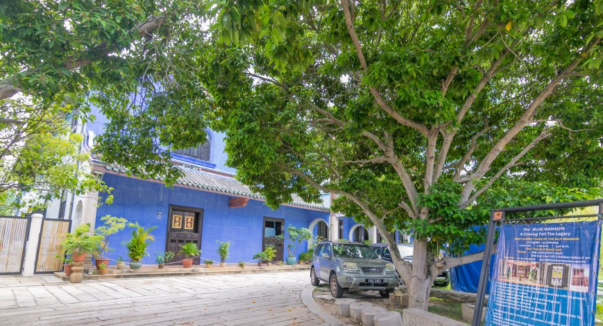 The Blue Mansion, George Town, Penang