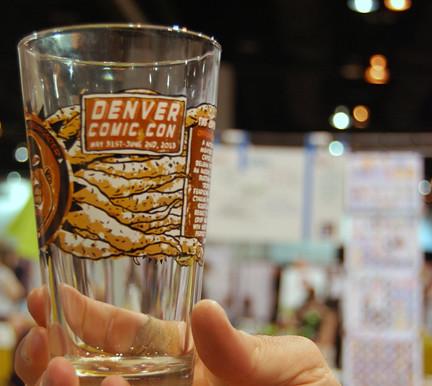 Denver pint glass