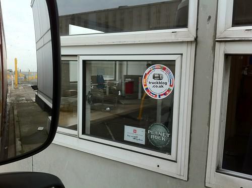 DFDS, Felixstowe Window has been done!!