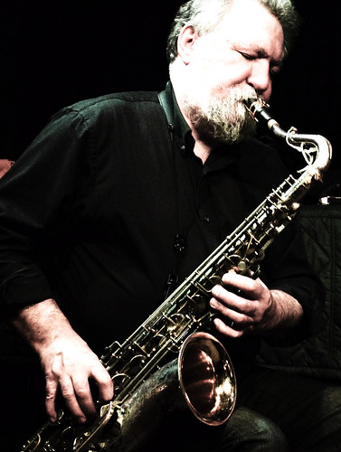 Evan Parker,John Edwards, John Russell @ the Vortex 19.4.12