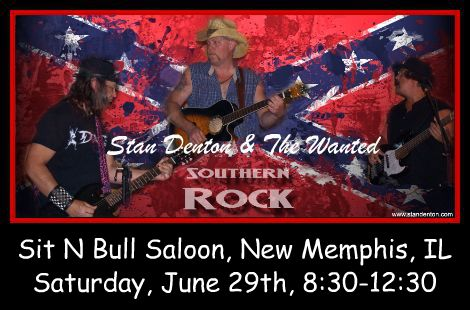 Stan Denton & The Wanted 6-29-13