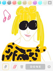 LADYGAGA, Draw Something App