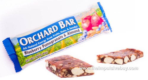 Liberty Orchards Orchard Bars Blueberry Pomegranate & Almond