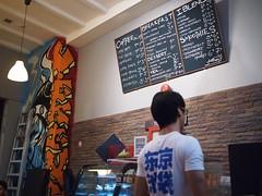 Blackboard menu, Viking Coffee, Kandahar Street