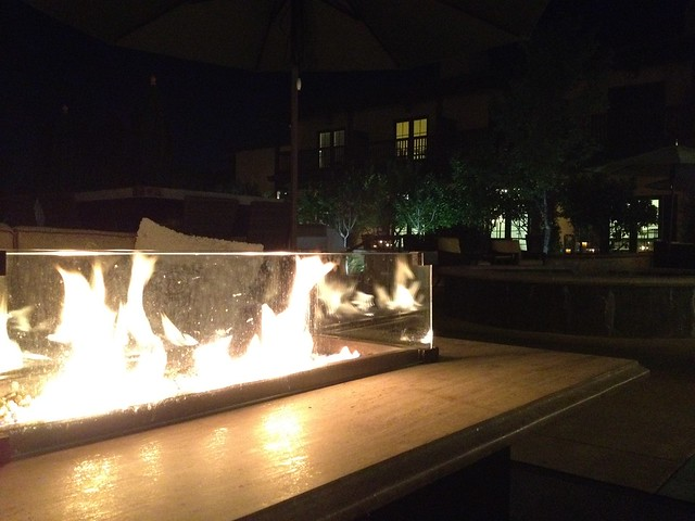 Firepit at The Lodge at Sonoma