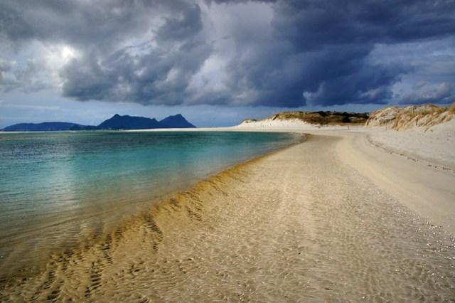 Ruakaka Beach. Bream Bay.  NZ.