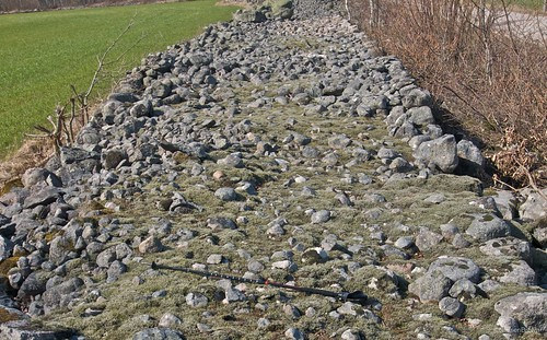 Wide Stone Wall